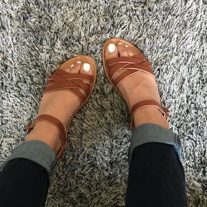 Shoes - Tan sandals